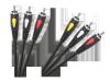 Kabel 3RCA-3RCA 3.0m Cabletech Eco-Line