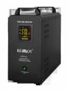Awaryjne źródło zasilania KEMOT PROsinus-500S przetwornica z czystym przebiegiem sinusoidalnym z wbudowanym akumulatorem 12 V 23