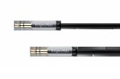 Kabel wtyk prosty - wtyk prosty jack 3.5 stereo 1.0m Kruger&Matz