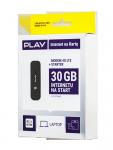 Modem 4G HUAWEI E3372 H LTE + starter PLAY 30GB LTE