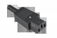 Gniazdo AC 3PIN na kabel komput.