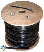 Kabel komputerowy - skrętka UTPCat5e + żel