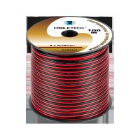 Kabel głośnikowy 0,75mm czarno-czerwony