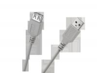 Kabel USB typu A wtyk-gniazdo 3m