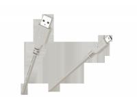 Kabel USB AM-BM mini USB do CANONA 1.5M+ filtr