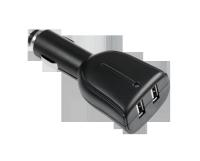 Ładowarka samochodowa 2x gn.USB typ A  5V 2000mA