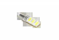 Lampa samochodowa LED T10 Canbus 6 xSMD 5730, 12V , biała
