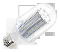 Lampa LED (80 SMD 3014) walec,   E27- 5,2W 3000K, 230V