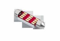 Żarówka samochodowa LED SV8,5 (Canbus)   T11x41 12 SMD 3014, 12-24V