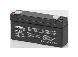 Akumulator żelowy VIPOW 6V 3.3Ah