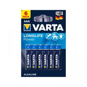 Bateria alkaliczna VARTA LR03 LONGLIFE 6szt./bl.