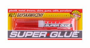Klej uniwersalny Super Glue
