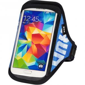 SOX opaska sportowa na smartfon RUN AWAY S/M 25-33cm niebieska