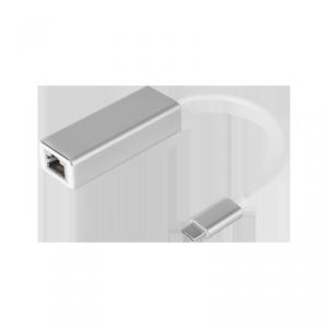 Adapter karta sieciowa USB typu C - RJ45 LAN gigabit 10/100/1000 Mb Kruger&Matz