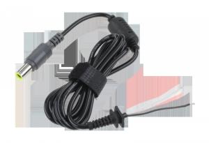 Wtyk 7,9/5,4 (20V/4,5A) sieciowy z kablem do montażu Rebel
