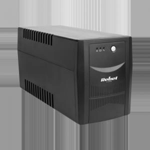 UPS REBEL model Micropower 1500 (offline, 1500 VA / 900 W, 230 V, 50 Hz)