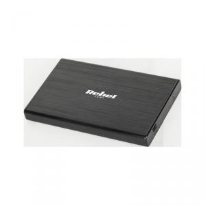 Obudowa dysku 2,5 SATA USB 2.0 Rebel aluminiowa