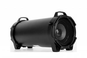 Mały przenośny głośnik bezprzewodowy marki REBEL