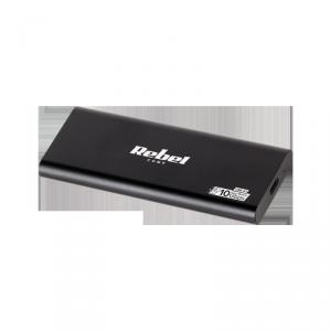 Obudowa dysku SSD M2 USB typu C 3.0 Rebel aluminiowa