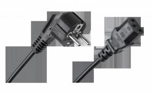 Kabel zasilający sieciowy do komputera 3m