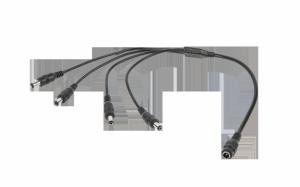 Kabel 1 x Gn.DC 2,1/5,5-4x wtyk DC 2,1/5,5 LX3321