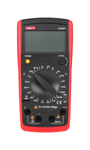 Miernik pojemności i rezystancji UT601