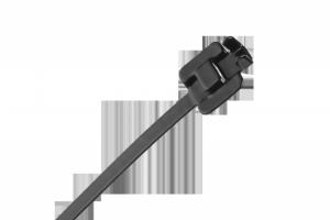 Opaska zaciskowa stalowa z powłoką nylonową  45cm. x 6.3mm