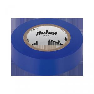 Taśma izolacyjna klejąca REBEL (0,13 mm x 19 mm x 10 yd) niebieska