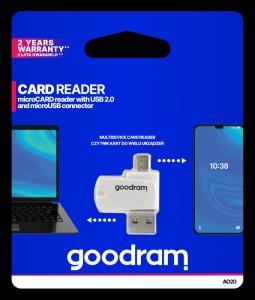 Czytnik kart MicroSD OTG Goodram