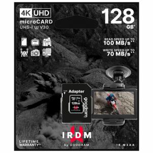 Karta pamięci microSD 128 GB UHS-I U3 Goodram z adapterem