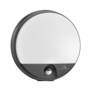 Lampa LED z sensorem ruchu MCE291 GR szara