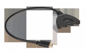 Złącze switch HDMI na kablu 1 wyj./3 wej.