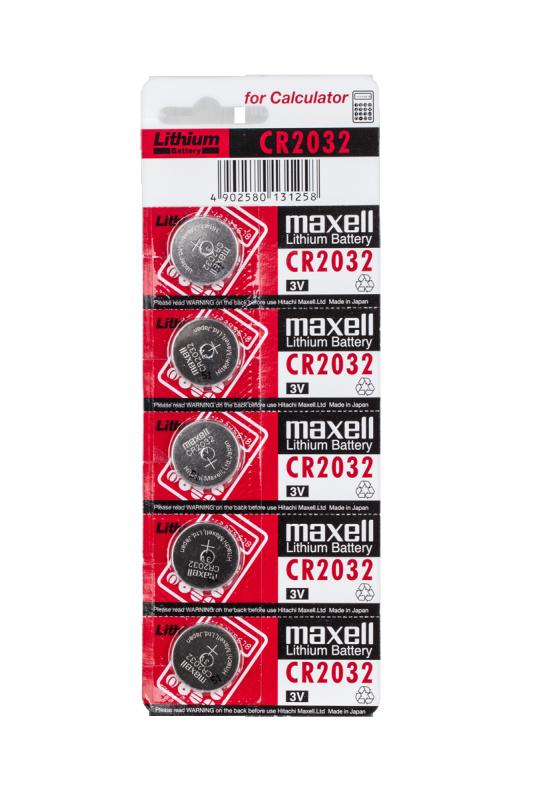 Bateria MAXELL CR2032 5szt./blist.