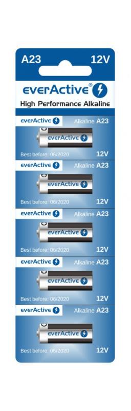 Bateria everActive Alkaline LR23A 5szt/bl.