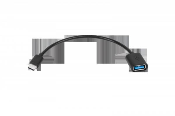 Adapter USB gniazdo A - wtyk typu C OTG