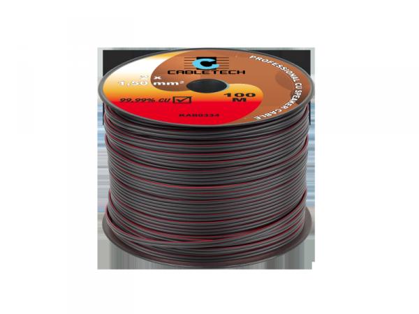 Kabel głośnikowy 1,5mm czarny