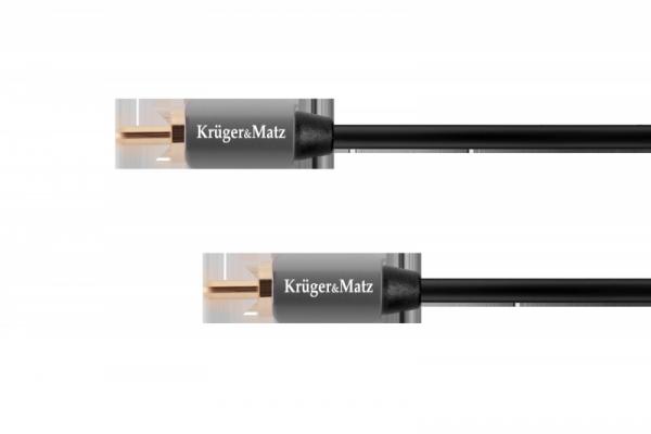 Kabel 1RCA-1RCA 1.0m Kruger&Matz