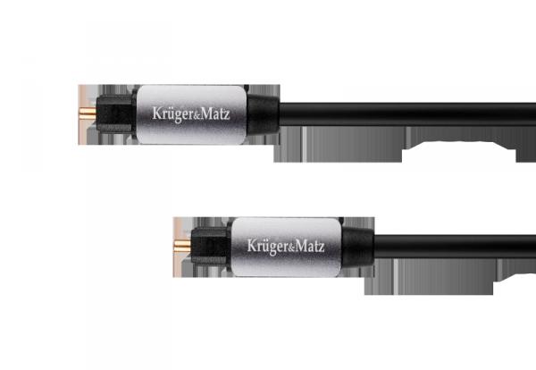 Kabel optyczny toslink-toslink 1.5m Kruger&Matz