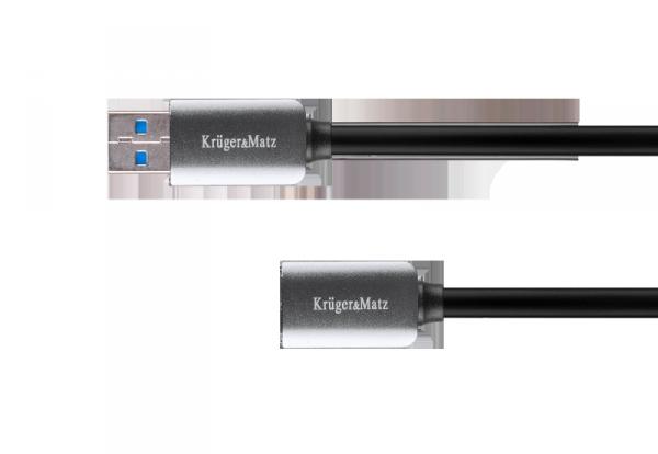 Kabel USB3.0 wtyk - gniazdo 1m Kruger&Matz