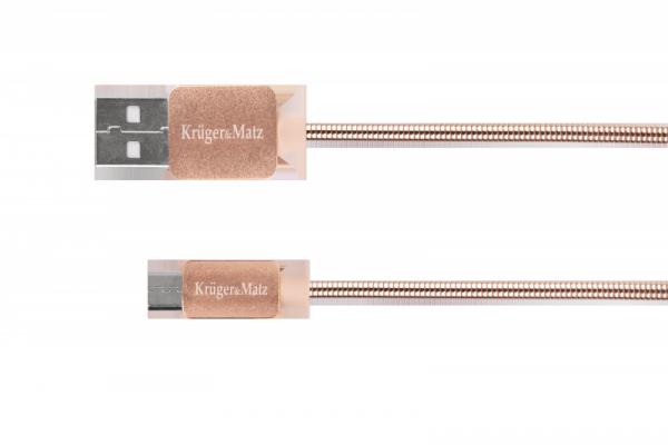Kabel USB - micro USB  1m Kruger&Matz