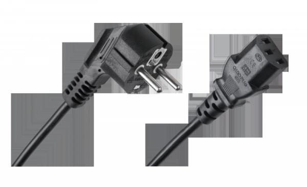 Kabel zasilający sieciowy do komputera 5m