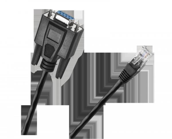 Kabel gniazdo RS232 - wtyk  RJ45