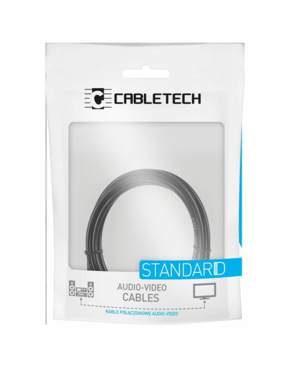 Kabel JACK 3.5 wtyk-wtyk 1.8m Cabletech standard