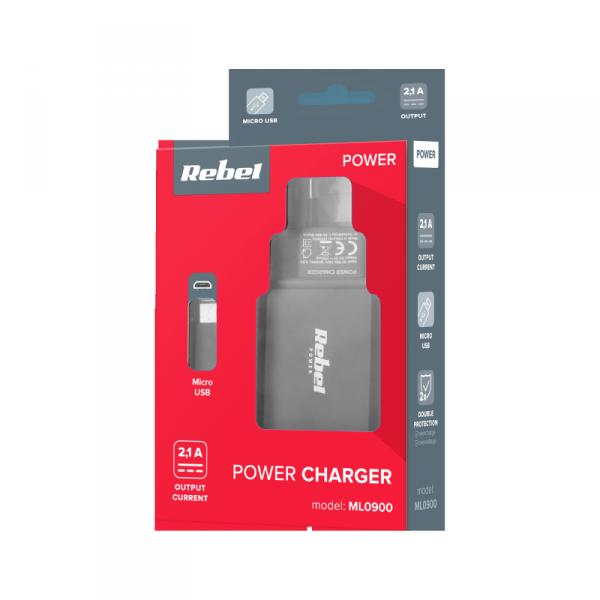 Ładowarka sieciowa M-LIFE micro USB 2100 mA