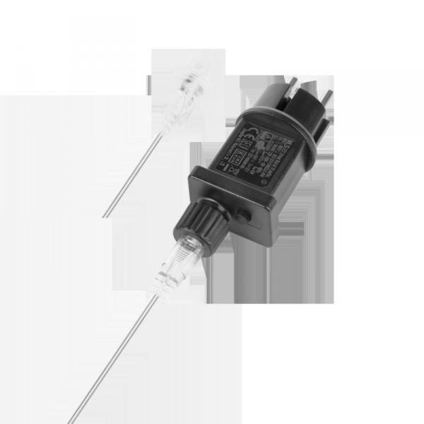 Kurtyna świetlna 5m  (330 led), kolor ciepły biały. IP 44