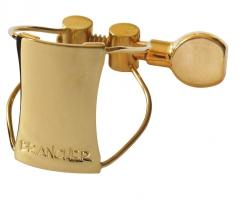 Ligaturka do saksofonu sopranowego Brancher gold wire