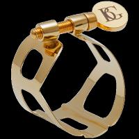 Ligaturka do saksofonu sopranowego BG Tradition L50 lakierowana