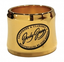 Ligaturka do saksofonu altowego JodyJazz Power Ring gold plated