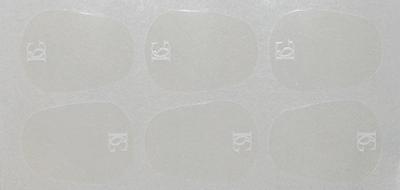 Naklejki na ustnik BG A11L (0.4 mm, duże)