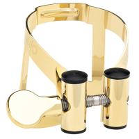 Ligaturka do saksofonu sopranowego Vandoren M/O pozłacana